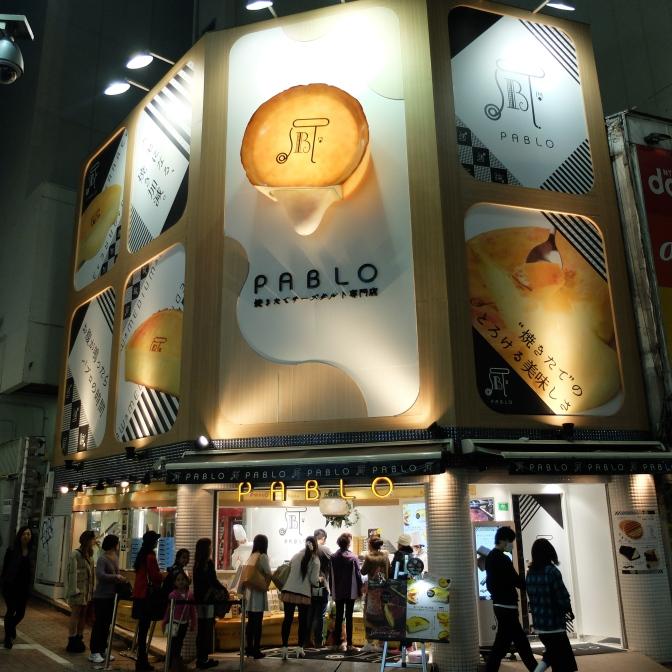 Pablo in Shibuya, Tokyo