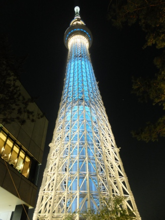 The tallest structure in Japan. Admission tickets: Adult - Y2,060 / Kids - Y930