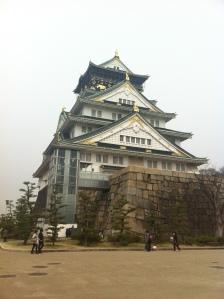 Osaka Castle during Spring