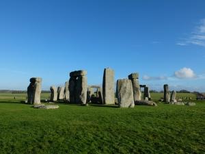 Stone Henge on a FIne Day