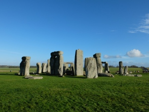 Stone Henge on a FIne Day