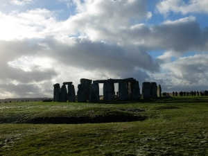 Stone Henge with Heavy Clouds